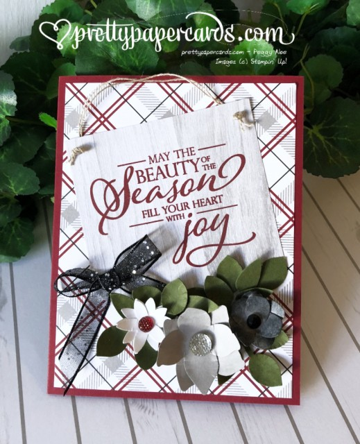 Stampin' Up! Beauty of Season - Peggy Noe - stampinup