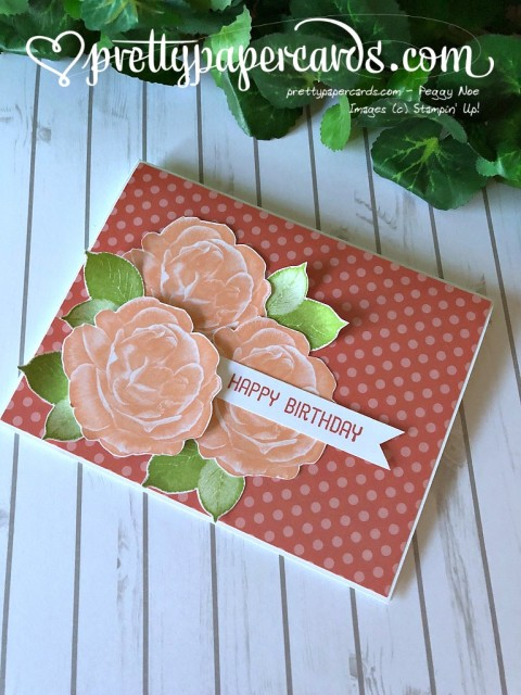 Stampin' Up! Birthday Card - Prettypapercards - stampinup