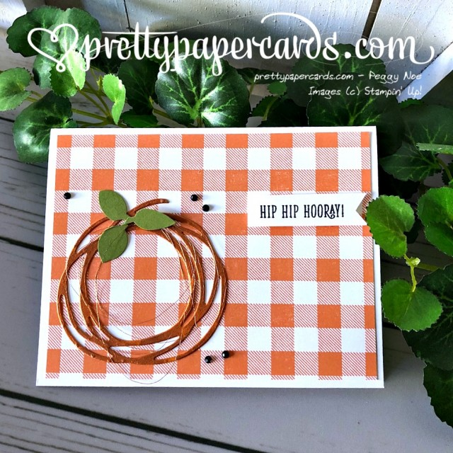 Stampin' Up! Buffalo Check Stamp - Prettypapercards - stampinup