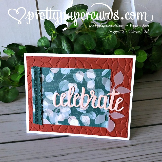 Stampin' Up! Celebrate You Card - Peggy Noe - stampinup