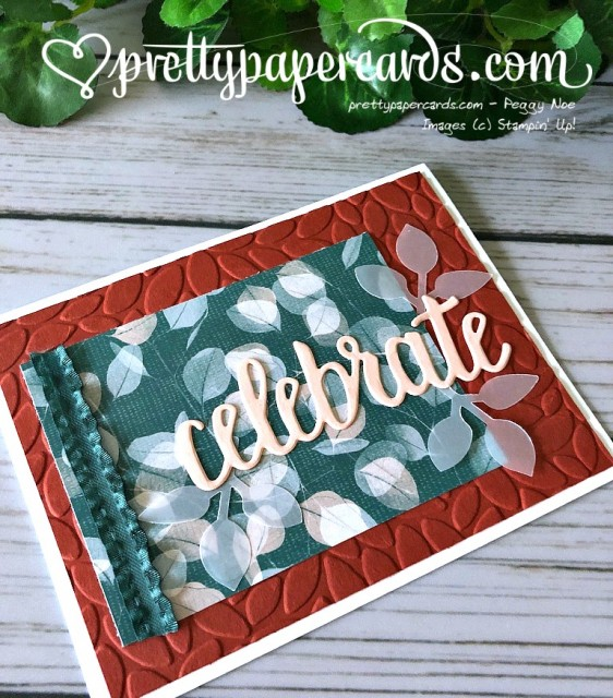 Stampin' Up! Celebrate You - Peggy Noe - stampinup