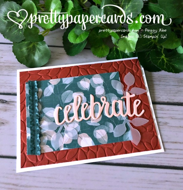 Stampin' Up! Celebrate You Thinlits - Peggy Noe - stampinup