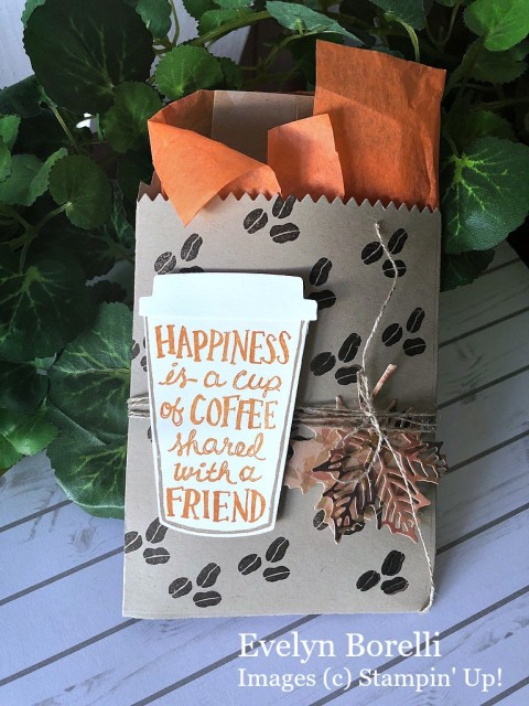Stampin' Up! Coffee Cafe - Prettypapercards - stampinup