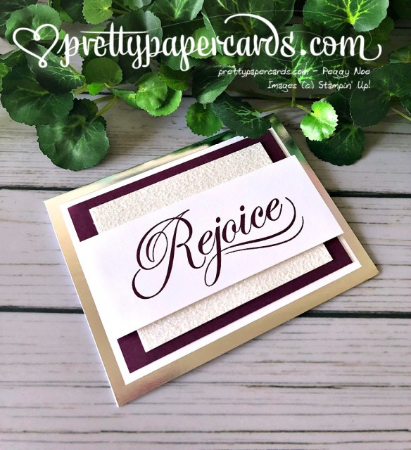 Stampin' Up! His Light Rejoice - Prettypapercards - stampinup