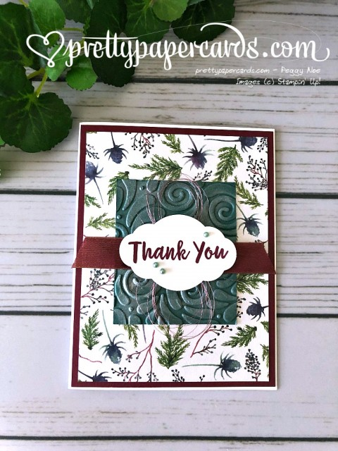 Stampin' Up! Holiday Thank You - Peggy Noe - stampinup