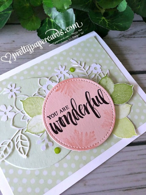 Stampin' Up! Rooted in Nature Card - Prettypapercards- stampinup