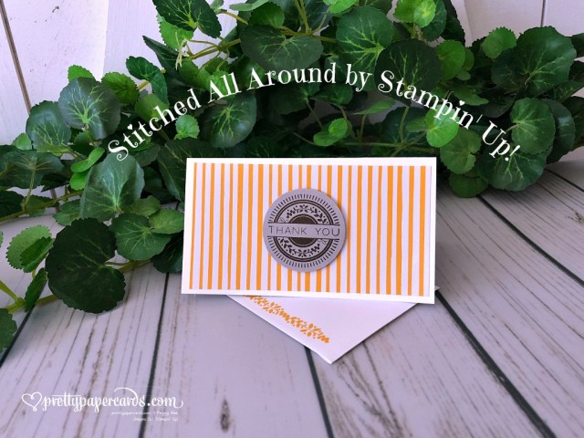 Stampin' Up! Stitched All Around - Prettypapercards - stampinup