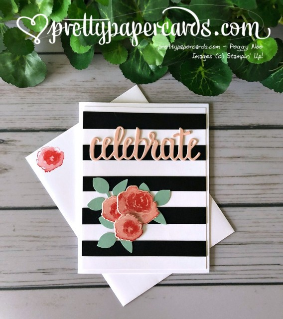 Stampin' Up! Striped First Frost - Peggy Noe - stampinup