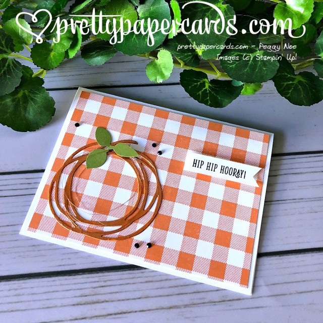 Stampin' Up! Swirly Scribbles Thinlits - Peggy Noe - stampinup
