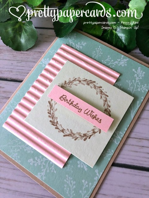 Stampin' Up! Wishing You Well Birthday - Peggy Noe - stampinup