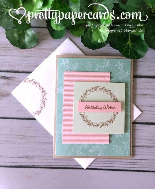 Stampin' Up! Wishing You Well - Peggy Noe - stampinup