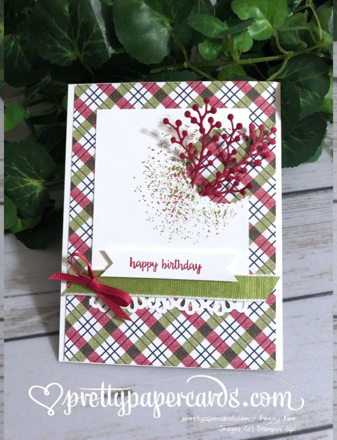 Stampin' Up! Birthday - prettypapercards - stampinup