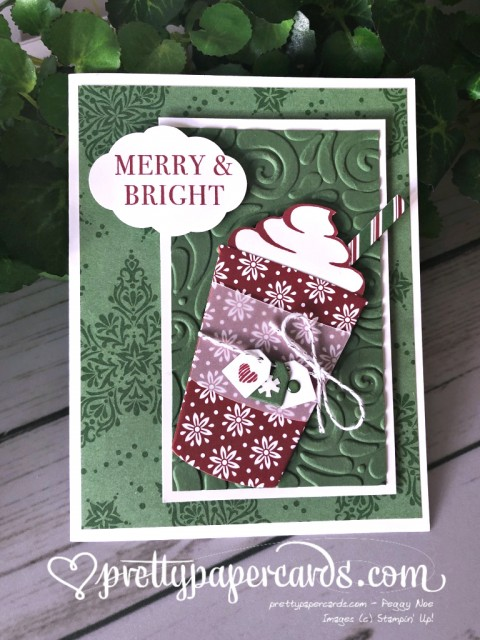 Stampin' Up! Coffee Cafe Card - prettypapercards - stampinup