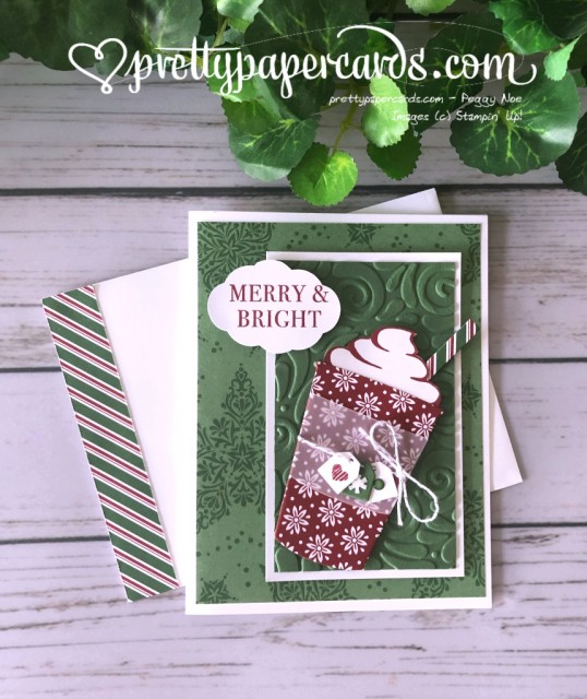 Stampin' Up! Coffee Cafe Christmas - Peggy Noe - stampinup