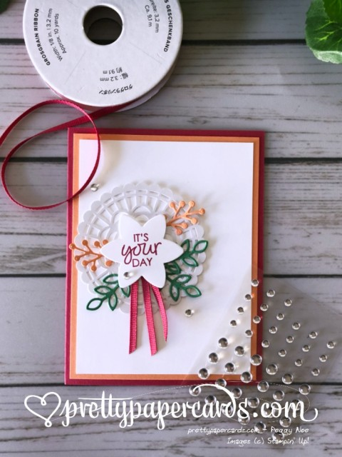 Stampin' Up! Happiness Surrounds Birthday - Peggy Noe - stampinup
