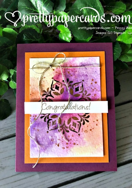 Stampin' Up! Happiness Surrounds - Peggy Noe - stampinup