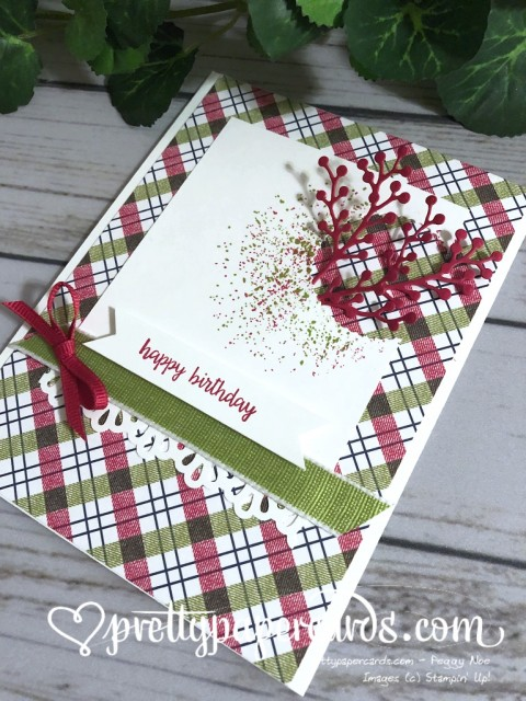 Stampin' Up! Happy Birthday Card - prettypapercards - stampinup