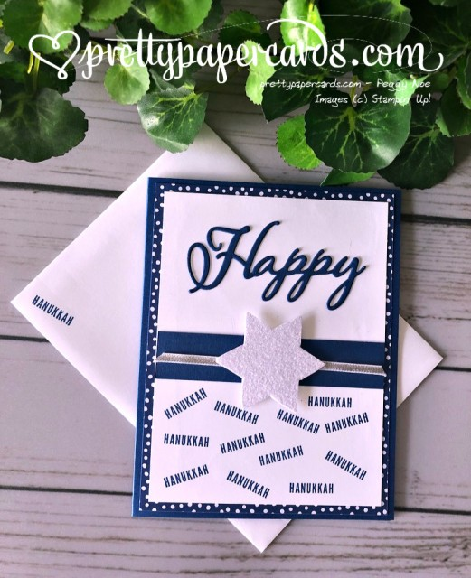 Stampin' Up! Happy Hanukkah - Peggy Noe - stampinup