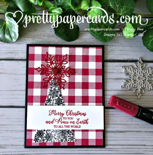 Stampin' Up! Merry Christmas to All - Peggy Noe - stampinup