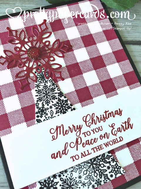 Stampin' Up! Merry Christmas to All - prettypapercards - stampinup