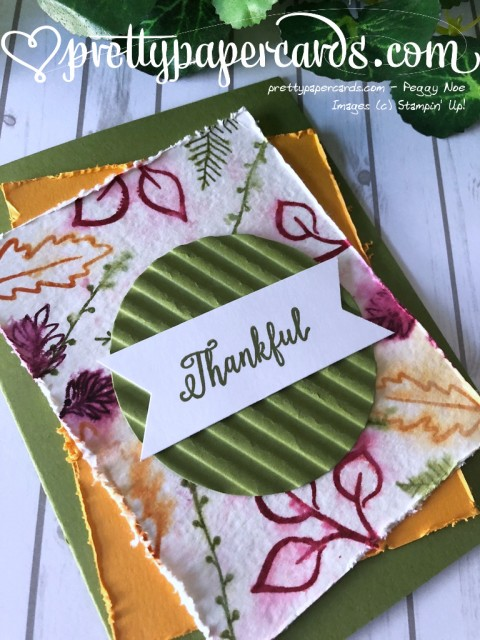 Stampin' Up! Thankful Falling for Leaves - Peggy Noe - stampinup