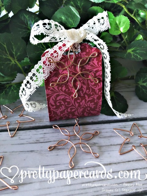 Stampin' Up! Treat Holder - Peggy Noe - stampinup