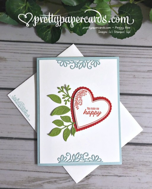 Stampin' Up! Be Mine - Peggy Noe - stampinup