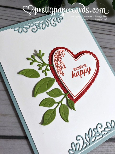 Stampin' Up! Be Mine Stitched Framelits - Peggy Noe - stampinup