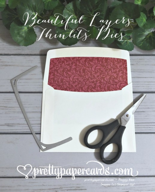 Stampin' Up! Beautiful Layers Thinlits - Peggy Noe - stampinup