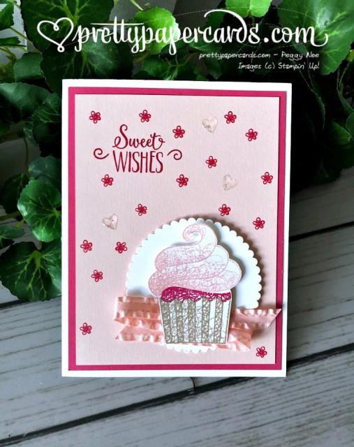 Stampin' Up! Cupcake Birthday - Peggy Noe - stampinup