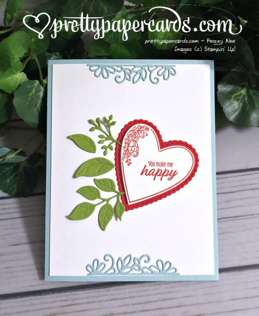 Stampin' Up! Happy Valentine - prettypapercards - stampinup
