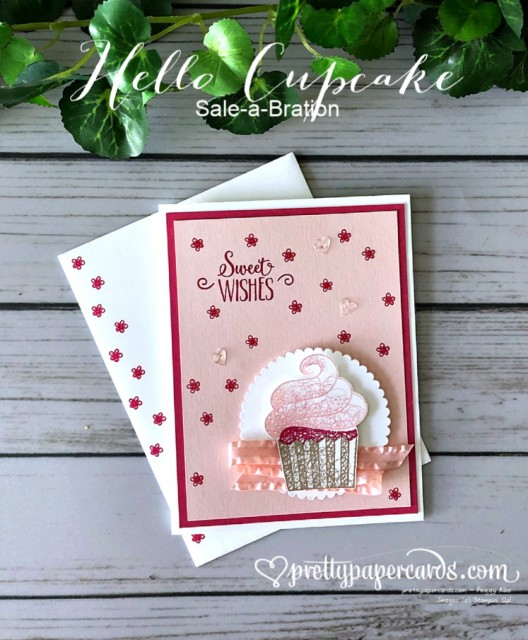 Stampin' Up! Hello Cupcake - Peggy Noe - stampinup