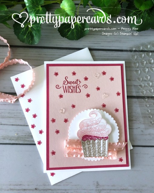 Stampin' Up! Hello Cupcake - prettypapercards - stampinup