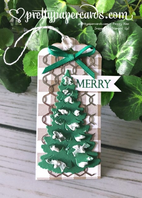 Stampin' Up! In the Woods Tag - Peggy Noe - stampinup
