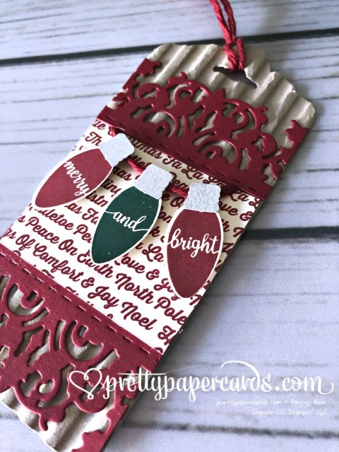 Stampin' Up! Making Christmas Bright Tag - Peggy Noe - stampinup