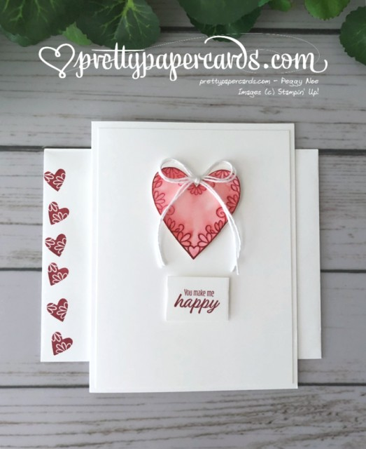 Stampin' Up! Meant to Be Valentine - Peggy Noe - stampinup