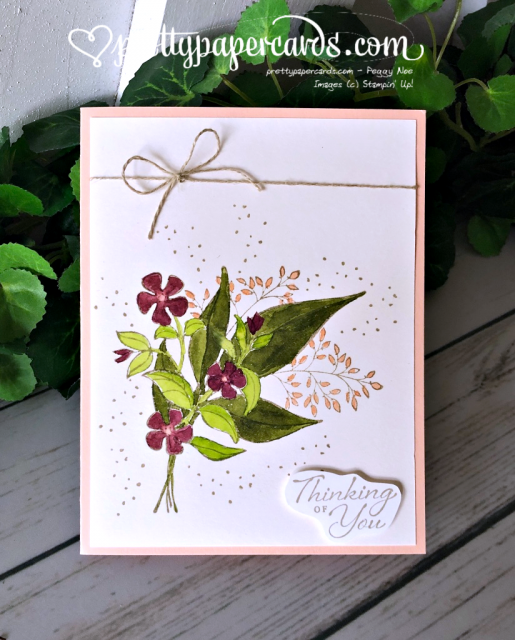 Stampin' Up! Thinking of You Wonderful Romance - Peggy Noe - stampinup