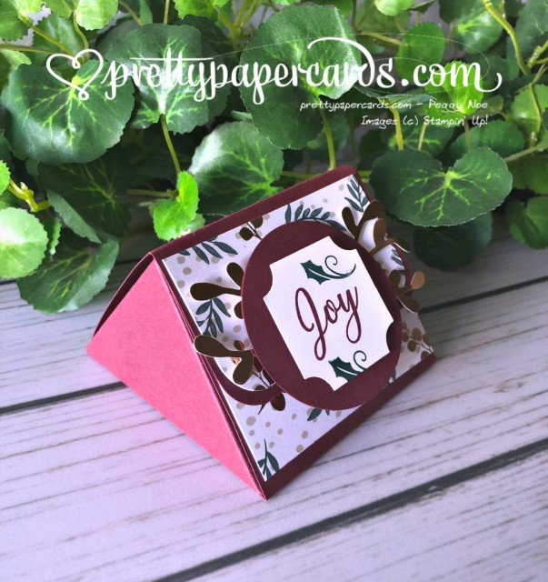 Stampin' Up! Treat Holder - prettypapercards - stampinup