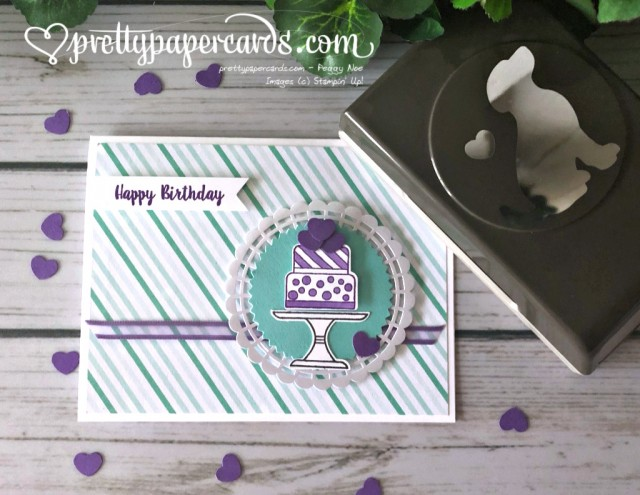 Stampin' Up! Birthday Cake - prettypapercards - stampinup