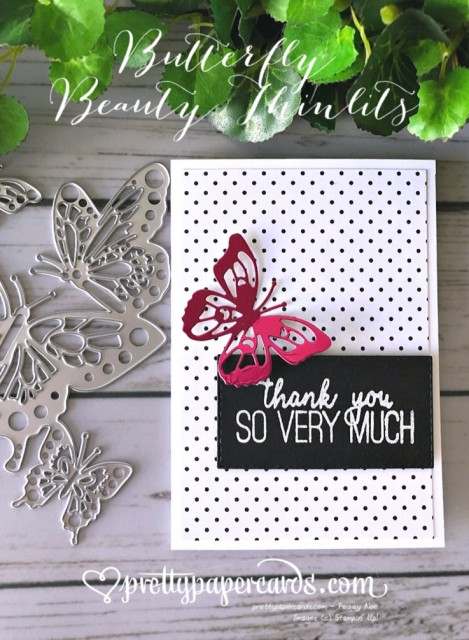 Stampin' Up! Butterfly Beauty Thinlits - Peggy Noe - stampinup