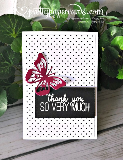 Stampin' Up! Butterfly Gala - Peggy Noe - stampinup