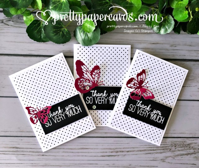 Stampin' Up! Butterfly Gala - prettypapercards - stampinup