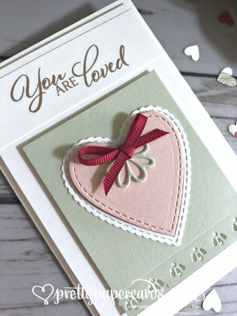 Stampin' Up! Forever Lovely Card - prettypapercards - stampinup