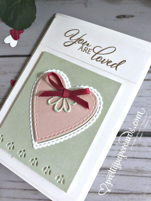 Stampin' Up! Forever Lovely Valentine Card - Peggy Noe - stampinup
