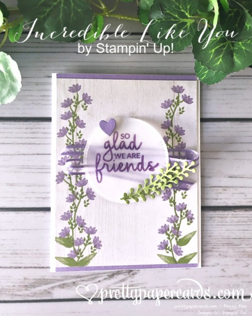 Stampin' Up! Incredible Like You Card - Peggy Noe - stampinup