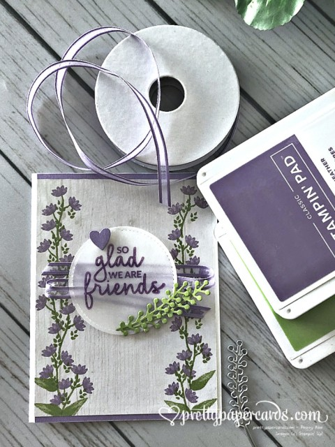 Stampin' Up! Incredible Like You Friends Card - Peggy Noe - stampinup