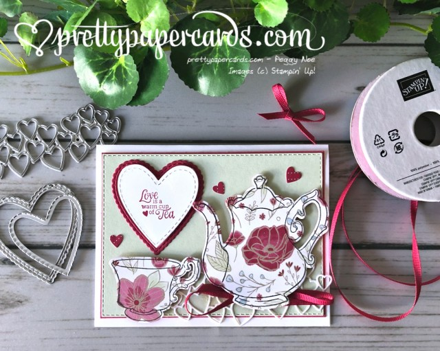 Stampin' Up! Love Tea Together - prettypapercards - stampinup