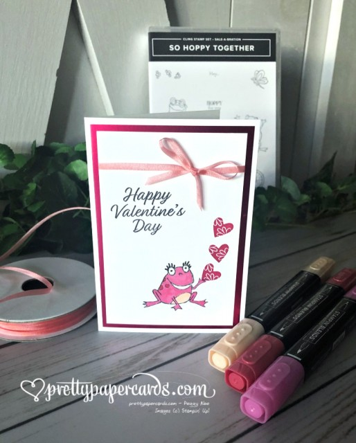 Stampin' Up! So Hoppy Together - Peggy Noe - stampinup