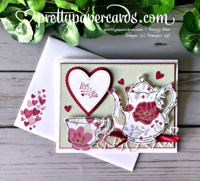 Stampin' Up! Tea Together - Peggy Noe - stampinup