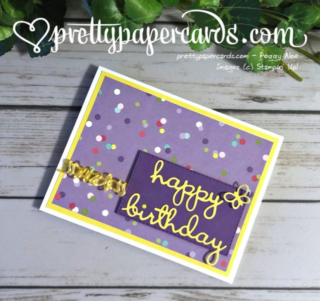 Stampin' Up! Well Written Framelits - prettypapercards - stampinup